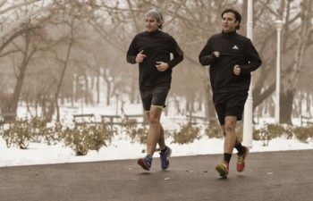 Training bei Kälte